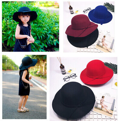 Cute Women's Kids Girls Sun Visor Causal Wide Brim Hat Travel Summer Beach Cap