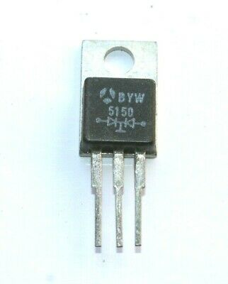 DOBLE DIODO RECTIFICADOR BYW51 50 2x16A-50V. (New Old Stock)