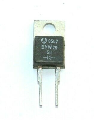 DIODO RECTIFICADOR BYW2950 8A, 50V (New Old Stock)