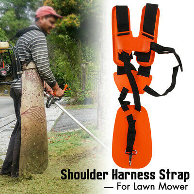 Adjustable Dual Shoulder Harness Strap Belt Grass Brush Cutter Trimmer Strimmer