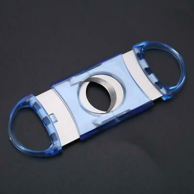 Pocket Stainless Steel Double Twin Blade Cigar Cutter Scissors Tobacco Shear