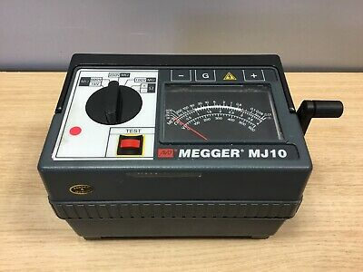 Megger MJ10 Analogue Insulation & Continuity Meter