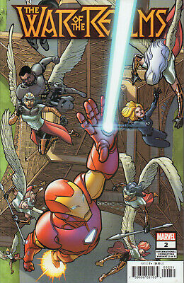 War of the Realms Nr. 2 (2019), Intern. Connecting Variant Cover, Neuware, new