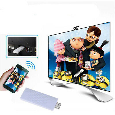 Wireless WiFi Airplay Phone Screen To HD 1080p HDMI Streamer TV Cast Dongle