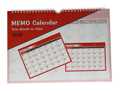 2020-2021 A4 Academic Mid Year Student Monthly Memo Calendar, Planner
