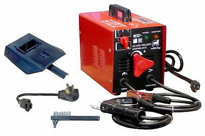 Portable Small Electric Arc Stick Welder Machine Kit Welding Unit