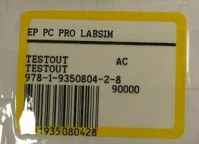 9781935080428 Testout Ep Pc Pro Labsim Access Code Only