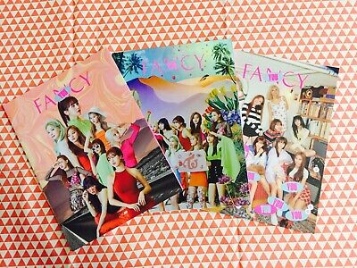 Twice Fancy you 7th mini album Booklet no photocard