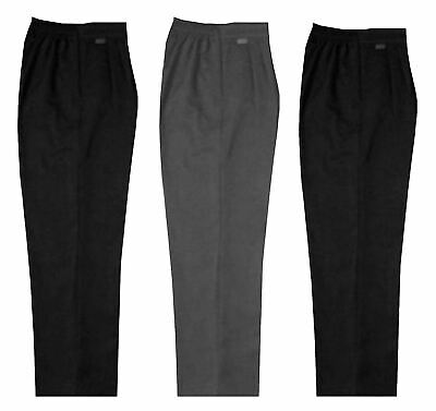 Girls School Uniform Sturdy Fit Trousers Boys Full Length Elasticated Pants