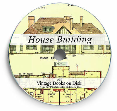 Architect House Design Rare Books on DVD - Self Build Home Construction Plans B9