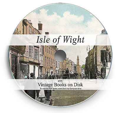 Rare Books on DVD Isle of Wight History Genealogy Marriage Registers Geology 55
