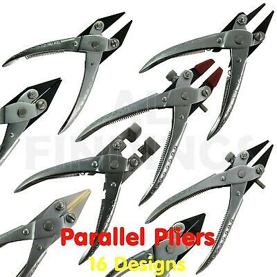2 Piece Parallel Action Diagonal Cutters /& Flat Nose Pliers Jewelry Wires Crafts