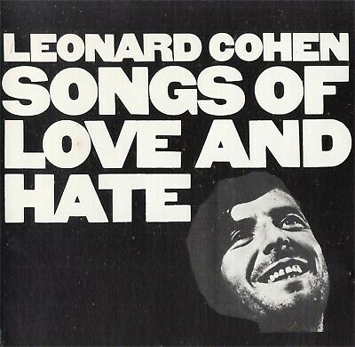 Songs Of Love And Hate Leonard Cohen - NEW Music CD Compact Disc