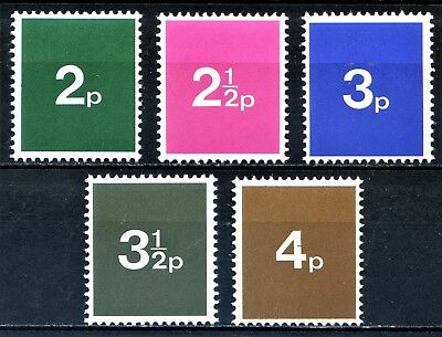 Set of 5 Post Office Training Stamps Unmounted Mint CHEAPEST ON EBAY