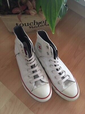 Converse Chuck ALL STAR Leder weiß 36 TOP Zustand (Chucks)