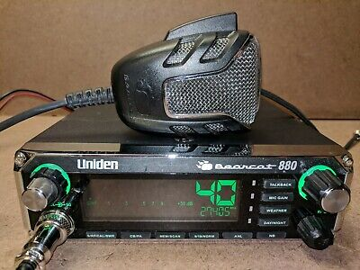 SAE Automotive Uniden Bearcat PC88ELITE 40 Channel CB Radio PanaPacific New
