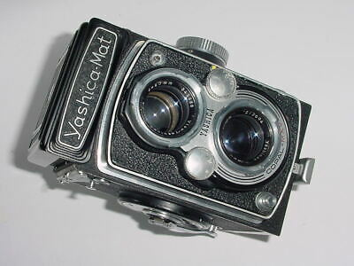 Yashica Mat MT 120 Film TLR Medium Format Camera w/ 80mm F3.5 Lens