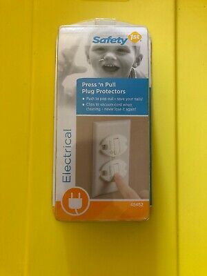 Safety 1St Press 'n Pull Elecrical Plug Protectors