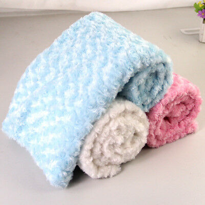 Baby Soft Wool Blanket Newborn Swaddle Wrap Towel Bedding Sleeping Blanket Hot