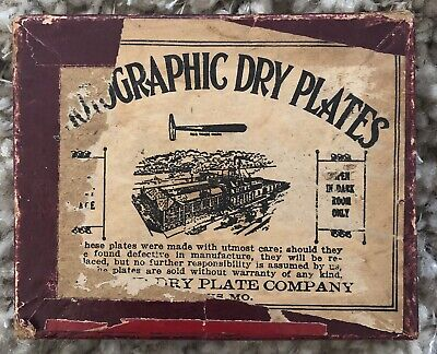 Vintage Photographic Dry Plates (16) Hammer Dry Plate Company ST LOUIS, MO