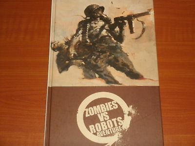 ZOMBIES vs. ROBOTS ADVENTURE 'ZVR' IDW HB Graphic Collection 2010 1st Print