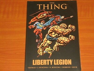 Marvel Graphic: THE THING / LIBERTY LEGION By Thomas & Buscema Team-Up WWII