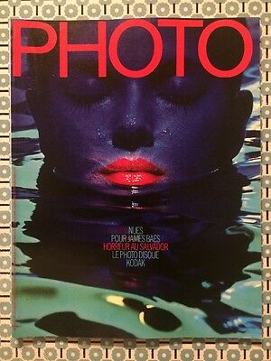 PHOTO French n 174 Mars 1982 Nues by James Baes Man Ray Jill Freedman Algérie