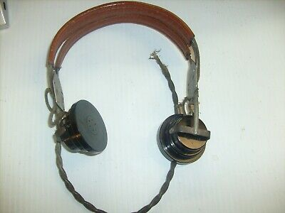 WWII US AAF RADIO HEADSET ANB-H-1 receiver by Western Electric