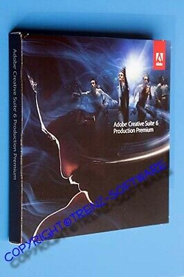 Adobe Creative Suite 6 Production Premium Macintosh deutsch DVD - MwSt. CS6