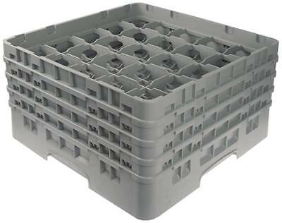 Cambro Glass Rack Width 500mm Fächergrösse 89x89mm 25 Glasses Height 265mm