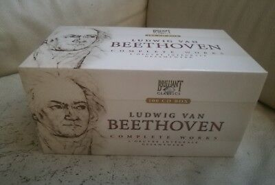 Beethoven Complete Edition Per Brilliant 100Cd  Like New Rare Out Of Print Htf