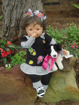 "New ~ OOAK Olivia ~ Big 28 "" Cuddly Toddler Doll ~  Open/ Close Eyes"