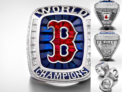 2018 Boston Red Sox World Series Championship Ring PEARCE GiftOfficial Style