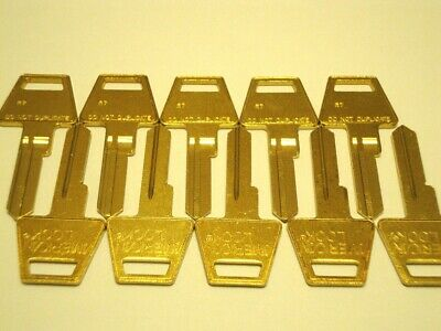 American Lock R7 Restricted Keyway Key Blank 6 Pin Lot of 10