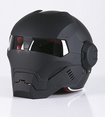Masei 610 Motorcycle Helmet Chopper Iron Man ECE Bike Helmet Open Face BNWT