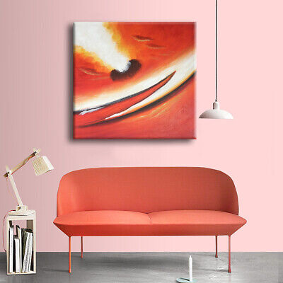 Abstract Modern Art Oil Painting Stretched On Canvas Handmade Wall Decor(Framed)