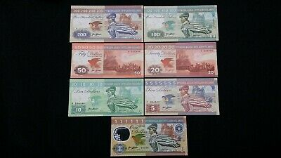 PITCAIRN ISLANDS 200 100 50 20 10 5 & 1 Nudes Some Matching x7 FANTASY Banknotes