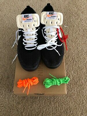 60fef4d3a9555 NIKE X OFF White Vapormax Fk The 10 Uk11 Us12 Brand New With Box ...