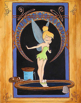 Tink's Reflection - Tricia Buchanan-Benson - Limited Edition Giclee on Canvas