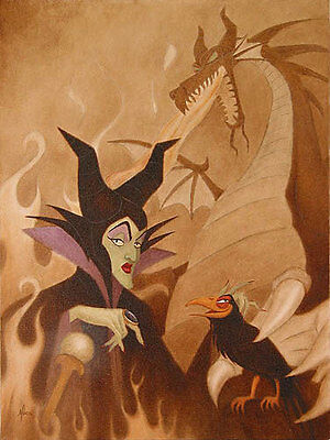 Now You Shall Deal With Me - Mike Kupka - Limited Edition Giclee on Canvas