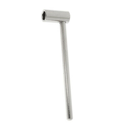 Truss Rod Hex Box Wrench Guitar Truss Rod Wrench for Electric Guitar Silver
