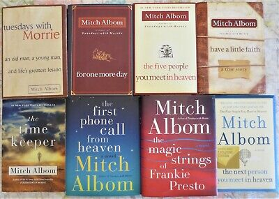 Mitch Albom Complete 8B the next person you meet in heaven-tuesdays with morrie