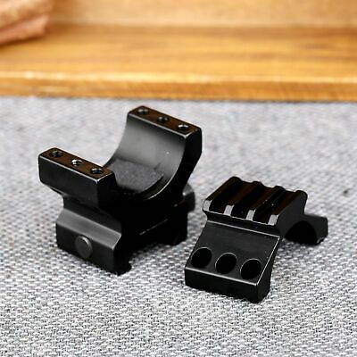 One Piece 30mm 3 Slot Ring Flat Top Scope Mount for 20mm Picatinny Weaver Rail