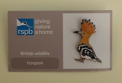 "FREE POST // SAME DAY DISPATCH !! Brand New Official /""RSPB JACKDAW/"" Pin Badge"