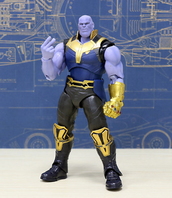 "Thanos 7 ""Figure Marvel Avengers Infinity War Titan Hero Series Giocattoli"