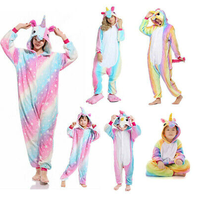 Adult FleeceKids Unisex Kigurumi Animal Onesie88PajamasCosplay Costume Sleepwear
