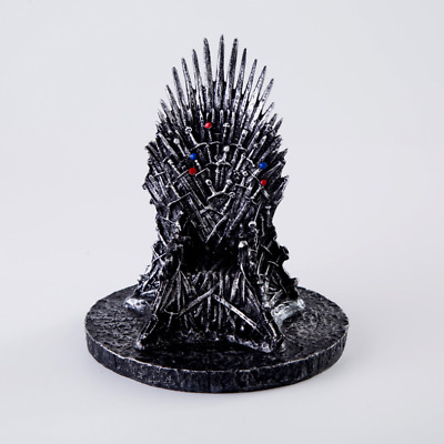 "The Iron Throne Game Of Thrones 7 ""(17cm) une réplique de la statue du chant et"