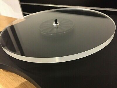 Edwards Audio 12mm Acrylic Platter - Rega Upgrade