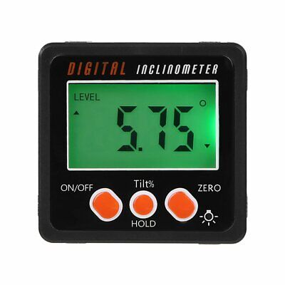 NEW Digital Angle Cube Finder Magnetic Inclinometer Gauge Protractor Level Saw