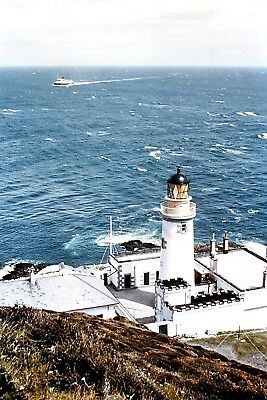 IOM lighthouse, sailing lifeboats & fishing boats, old Ramsey sets of 6x4 photos